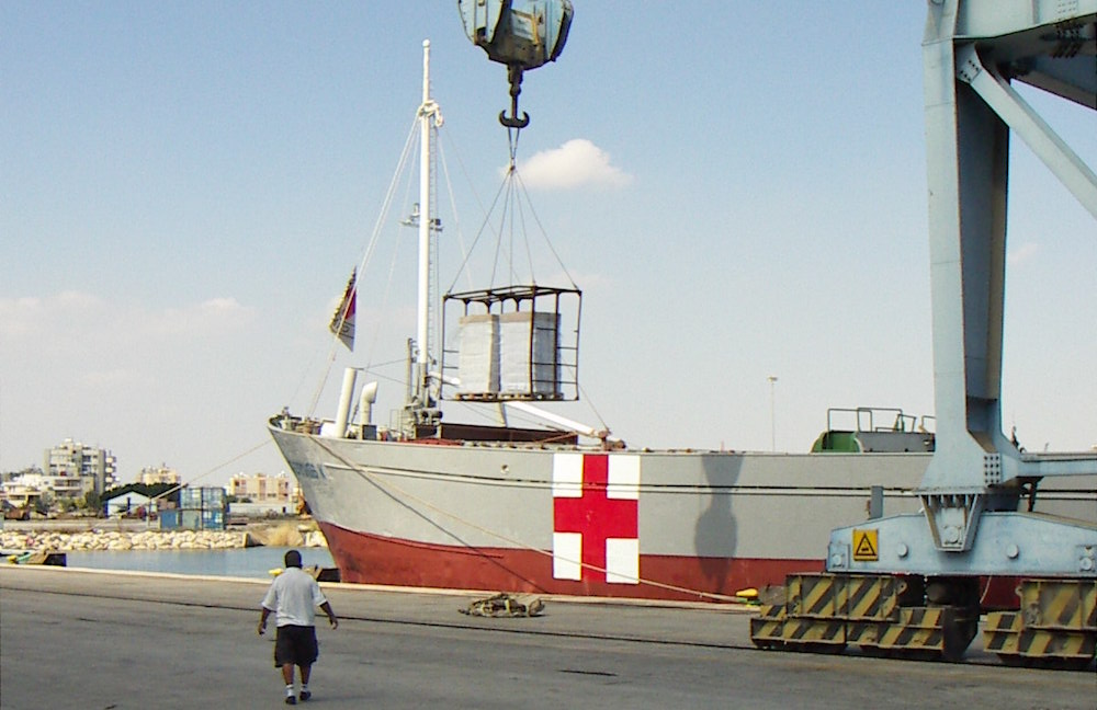 Shore base services provided to International Committee of Red Cross (ICRC)/ Geneva over Lebanon war. Airtrans was exclusively appointed as a custom broker and full logistics provider including provision of Marine Agency services for the project.